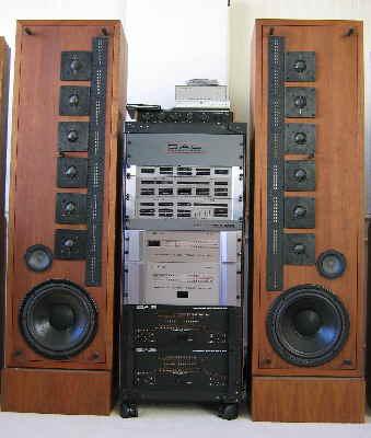 Vintage Infinity Speakers and Audio