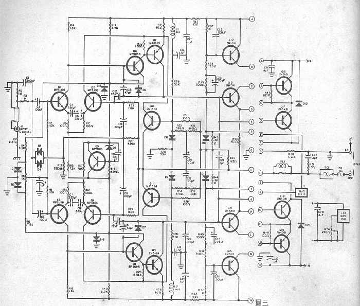 zilla schematic on amplifier schematic